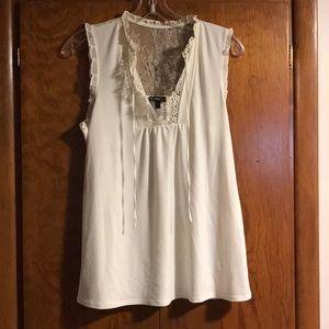 Express sleeveless dress top